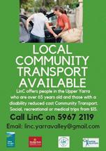 LinC Transport Services flyer download
