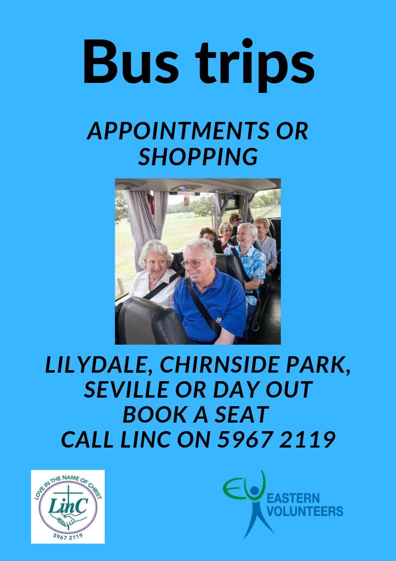 LinC Bus trip services